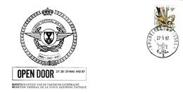 Enveloppe 2190 Open Door Belgian Tactical Air Force Aviation Quartier Général Force Aérienne Tactique - Cartas