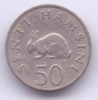 TANZANIA 1966: 50 Senti, KM 3 - Tansania