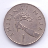 TANZANIA 1966: 1 Shilingi, KM 4 - Tansania