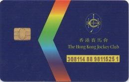 The Hong Kong Jockey Club - Casino Cards