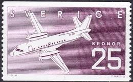 Schweden, 1987, Mi. Nr. 1427, MNH **. Schwedische Flugzeugindustrie. - Sweden