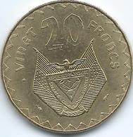 Rwanda - 20 Francs - 1977 - KM15 - Rwanda