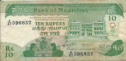 10 Rupees 1985 - Mauritanien