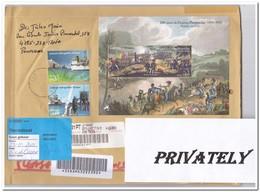 Portugal 2010, Registered Mail To Netherland - France