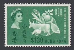 Hong Kong 1963 Yvert 209 ** Campagne Mondiale Contre La Faim Hunger Hambre Fame - Hong Kong (...-1997)