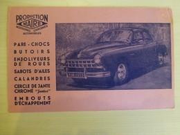 Automobile FREGATE Renault 1953 (production Maire, Accessoires Chromés) Ref 1720 ; BU 02A - Non Classificati