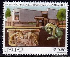 ITALIA REPUBBLICA ITALY REPUBLIC 2015 PATRIMONIO ARTISTICO E CULTURALE MUSEO ARCHEOLOGICO DELLA SIBARITIDE USATO USED - 6. 1946-.. Repubblica