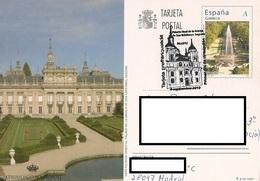 ENTERO POSTAL. PALACIO DE LA GRANJA. SEGOVIA. - Monuments