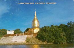 508  Carte Postale BIRMANIE - MYANMAR  LAWKANANDA PAGODA (BAGAN) - Myanmar (Burma)