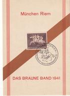 ALLEMAGNE 1941 CARTE SOUVENIR DE MÜNCHEN-RIEM - Storia Postale