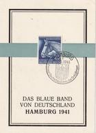 ALLEMAGNE 1941 CARTE SOUVENIR DE HAMBURG - Storia Postale