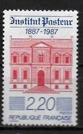 FRANCE  N° 2496  * *  Institut Pasteur - Louis Pasteur