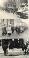 Postmortem - 6 Photos D'un Enterrement - Format Carte Postale - Personnes Anonymes