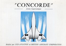 "B66388 Cpm Concorde "" Avion Supersonique "" - Zonder Classificatie"