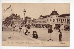 CPA 59 . MALO LES  BAINS . LE CASINO ET  LA DIGUE . 1927 - Malo Les Bains