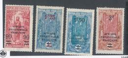CONGO FRANCAIS - N° 100/03 NEUFS* AVEC CHARNIERE - 1926/27 - Congo Français (1891-1960)