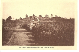 Camp De Coëtquidan - Un Char En Action - Manöver