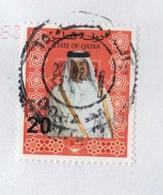 Qatar ,  Stamp On Big Format Cover - Qatar