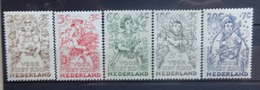 NEDERLAND  1949    Nr. 544 - 548     Postfris **  CW  16,50 - Period 1949-1980 (Juliana)