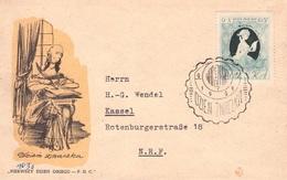 POLEN - FDC 1957 TAG DER BRIEFMARKE Mi #1013 //ak239 - FDC