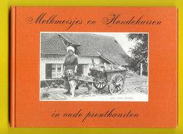MELKMEISJES EN HONDEKARREN IN OUDE PRENTKAARTEN ©1977 POSTKAARTEN ATTELAGE à CHIEN HONDENKAR LAITIERE HONDEKAR Hond Z320 - Literatur