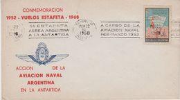 1968 Argentina Conmemoracion Vuelos Estafeta 1952-1968 Cover(47403) - Poolvluchten