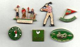 Lot De 6 Pin's Golf. - Golf