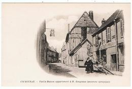 Courtenay / Vieille Maison Appartenant à M. Rougeaux ( Ancienne Synagogue ) - Jewish