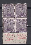 Belgie - Belgique Ocb Nr : 139-V1 ** MNH + Luppi V3 Et Erreur De Perforations ! ** MNH   (zie  Scan) - 1915-1920 Albert I