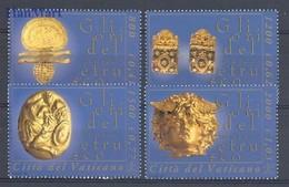 Vatican 2001 Mi 1386-1389 MNH ( ZE2 VTC1386-1389 ) - Minerals