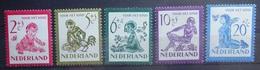 NEDERLAND  1950    Nr. 563 - 567    Postfris **  CW 34,00 Euro - Periodo 1949 - 1980 (Giuliana)