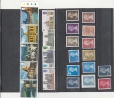 Type Machin Dont 1 Adhésif à 5 £ ( 5 € Eviron ) + 10 Timbres ** + 9 BLOCS ROYAL WEDDING 1981 - Collections (without Album)