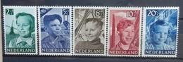 NEDERLAND  1951    Nr. 573 - 577    Postfris **  CW 27,00 Euro - Period 1949-1980 (Juliana)