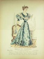 GRAVURE De MODE-JOURNAL Des DEMOISELLES-1894/5025 - Prints & Engravings