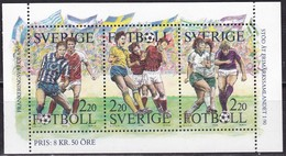 Schweden, 1988, Mi. Nr. 1504/07, MNH **. Tag Der Briefmarke: Fußball. - Sweden