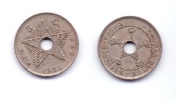 Belgian Congo 5 Centimes 1921 - Congo (Belga) & Ruanda-Urundi
