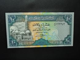 RÉPUBLIQUE DU YEMEN * : 10 RIALS   ND (Ca 1992)   P 24      NEUF - Yemen