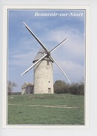Beauvoir Sur Niort - Le Moulin (àvent) Rimbault (cp Vierge N°777/79 Dubray) - Beauvoir Sur Niort