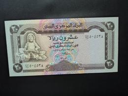 RÉPUBLIQUE DU YEMEN * : 20 RIALS   ND 1990    P 26b       NEUF - Yemen