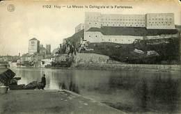 026 778 - CPA - Huy - La Meuse, La Collégiale Et La Forteresse - Huy