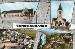 CONDE SUR VIRE  ( 50 ) -     CPSM - Andere Gemeenten