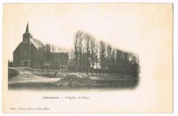 Liéramont - L'Eglise, La Place - 2201 - Pèle-Mèle - Vierge - France