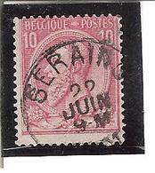 Belgique N°46 Seraing T104 - 1893-1900 Fine Barbe