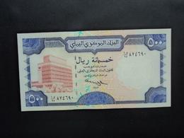 RÉPUBLIQUE DU YEMEN * : 500 RIALS   ND (1997)     P 30       NEUF - Yemen