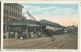 New Orleans - French Market - Baton Rouge
