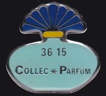 64625- Pin's. 3615 Collec Parfum.Minitel.signé Tirage 500 Ex. - Perfumes