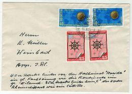 Suisse // Schweiz // Switzerland // Marcophilie // 1954, Lettre  Pour Weissbad - Postmark Collection
