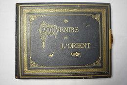 Album Souvenir De L Orient Dumas 57 Photos 21.5/27.5 Cm / Beirut Nazareth Damasc Baalbek Jerusalem Jaffa ... C. 1890 - Albums & Collections