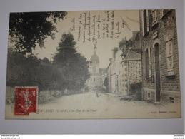 Refboite 108 -  Argentré Du Plessis  Rue De La Poste  ( La Rue De Gennes ?) 1913 - Sonstige Gemeinden
