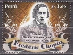 Peru  2010 Frederic Chopin  Michel  2483  MNH  27382 - Musique